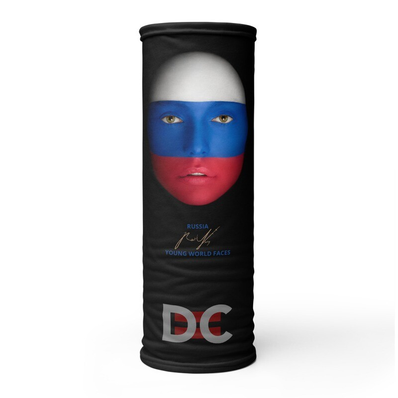DC=YOUNG WORLD FACES Face Mask (RUSSIA)