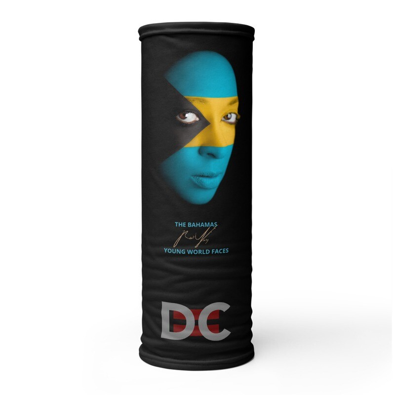 DC=YOUNG WORLD FACES Face Mask (THE BAHAMAS)