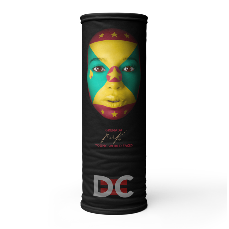 DC=YOUNG WORLD FACES Face Mask (GRENADA)