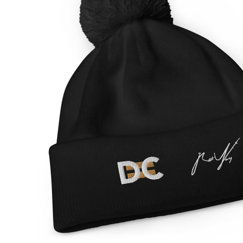 DC=Embroidered Beanie
