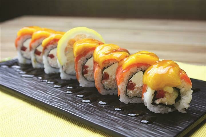 Smoky Mango Roll