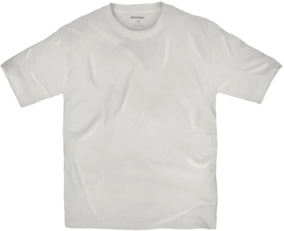 Camiseta White Cotton - Blanco