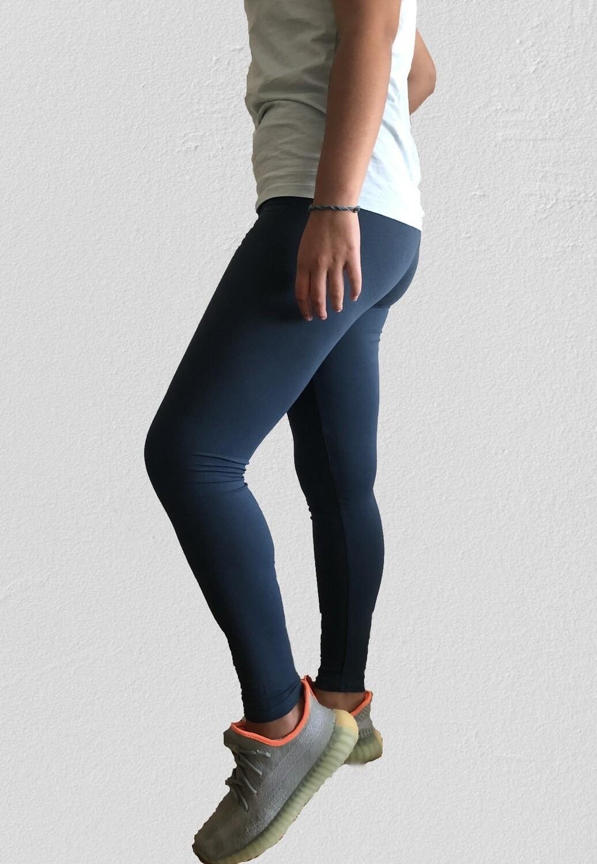 Classic Leggings Adulto - Azul Marino