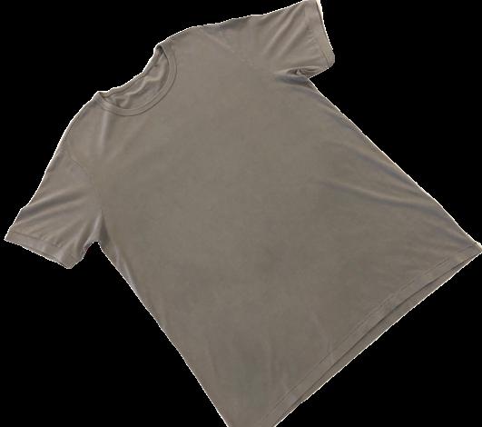 T-Shirt de Hombre Pima Orgánico Gris