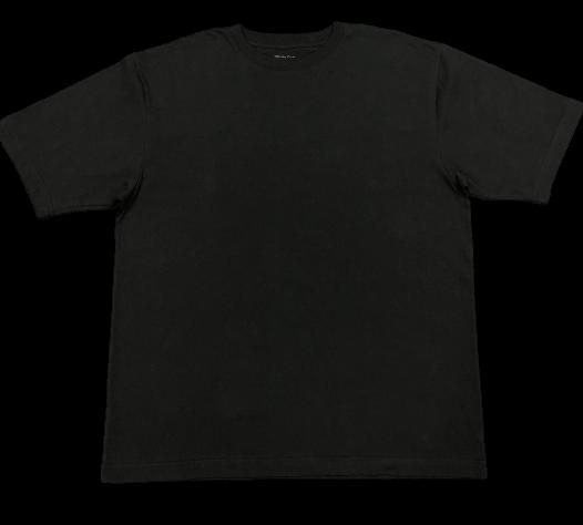 Camiseta White Cotton -Negro