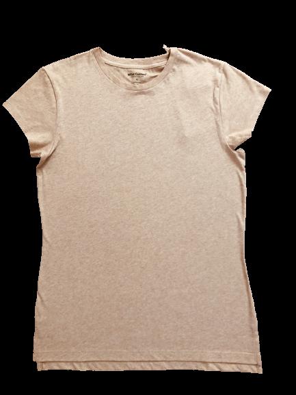 T-Shirt de Mujer Algodón Nativo Orgánico Sand