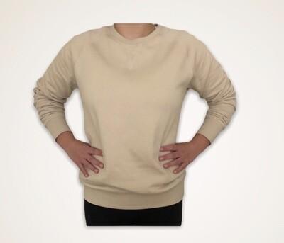 Sweatshirt Unisex de Franela Perchada - Oyster