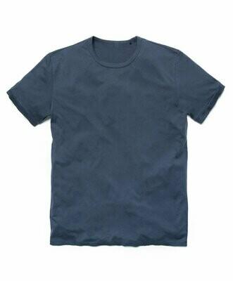 T-Shirt de Hombre Pima Orgánico Indigo