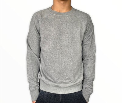 Sweatshirt Unisex de Franela Perchada - Heather Grey