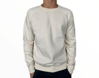 Sweatshirt Unisex de Franela Perchada - Oatmilk