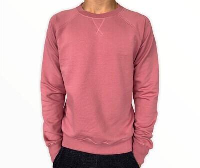 Sweatshirt Unisex de Franela Perchada - Mauve