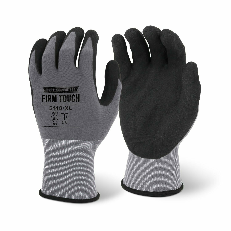 Washable 15 Gauge Sandy Palm Nitrile Coated Gloves (12 Pack)