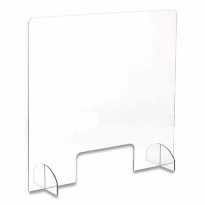 """Portable Acrylic Protective Guard with Port (28.5"""" x 33.25"""")"""