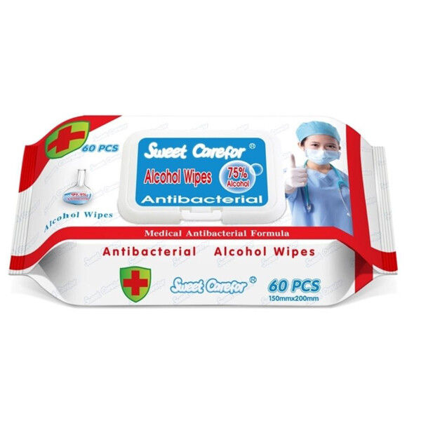 75% Alcohol Disinfectant Wipes (24 Packs/60 per Pack)