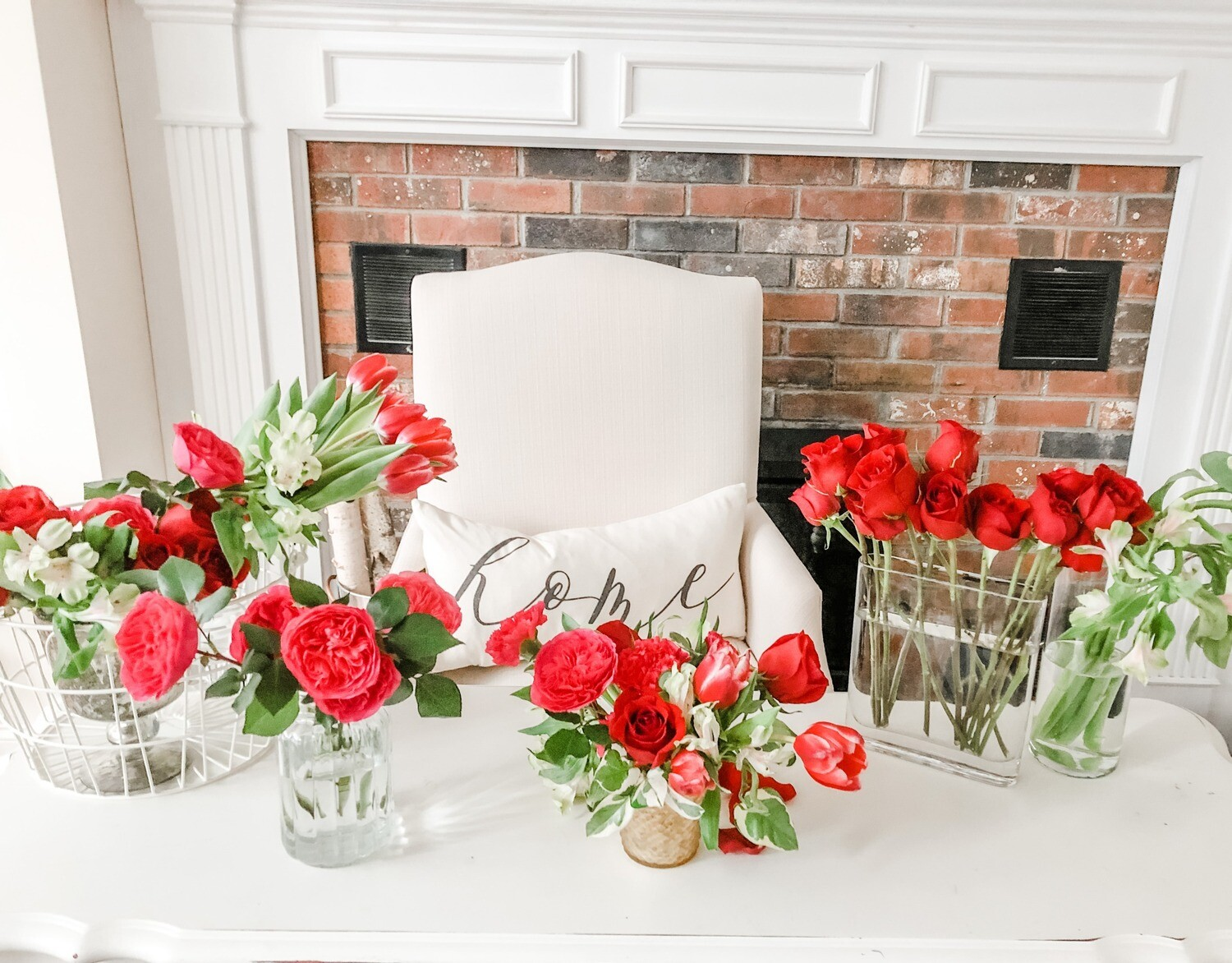 February 12, 2021  Gal-Entines Day Virtual Floral Class