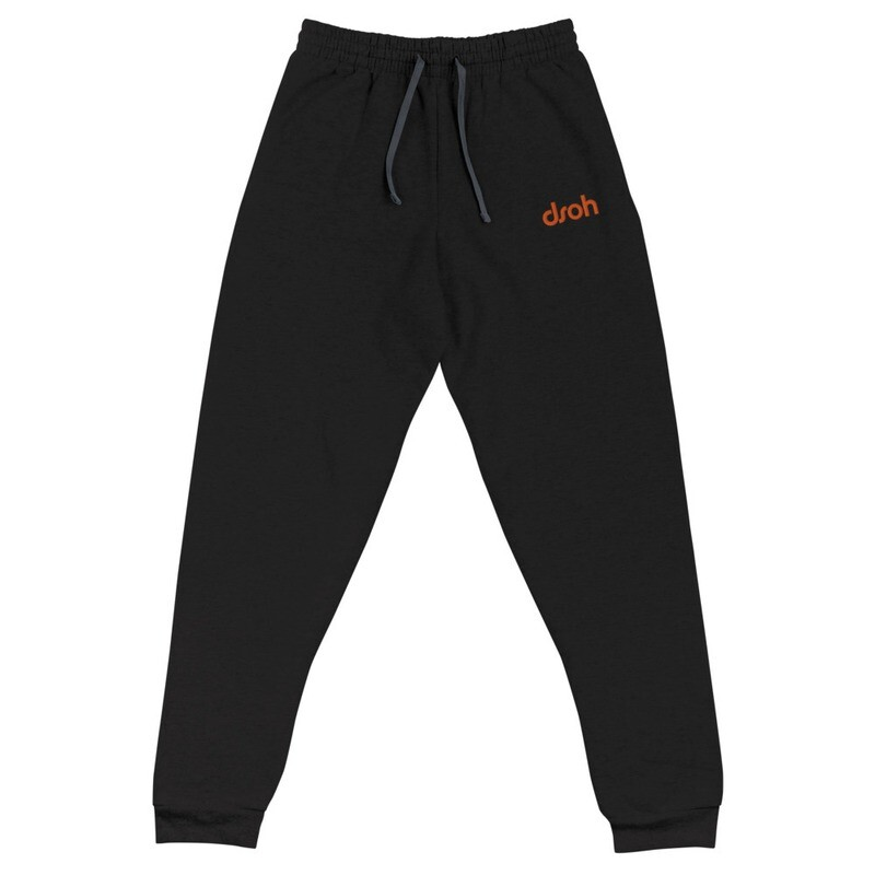 NEW DROP JUNE 2020 !!! DSOH Unisex Joggers w/ Embroidered Logo