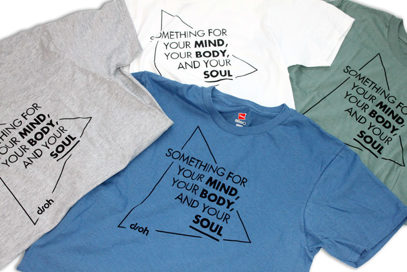 $15 SALE - Something For ... T-Shirt (white, gray, blue, green)