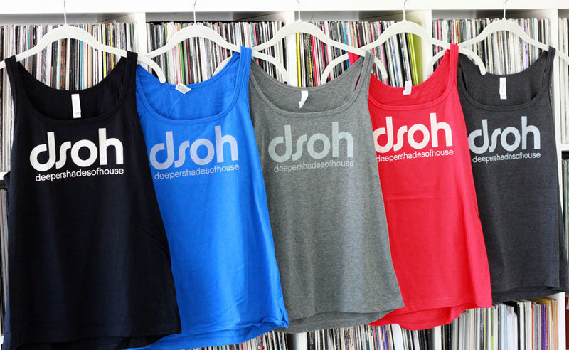 $15 SALE - DSOH Logo Girls Tank Top (Gray, Red, Blue, Black)