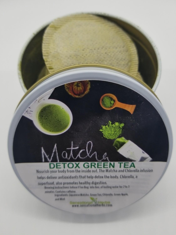 Matcha Green Detox Tea