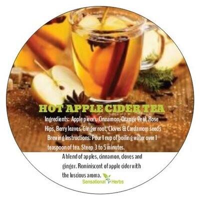 Hot Apple Cider Tea