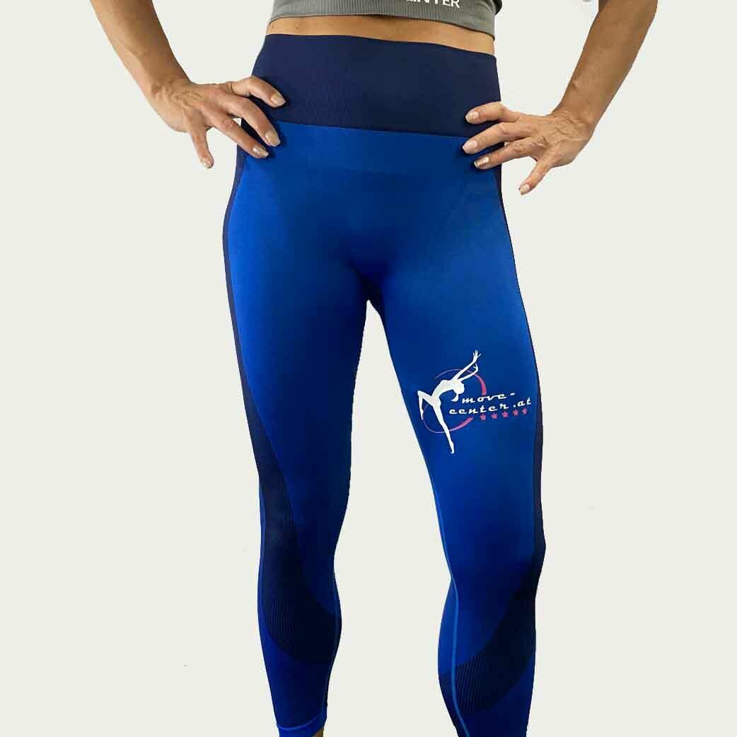 Leggings High Waist Blue