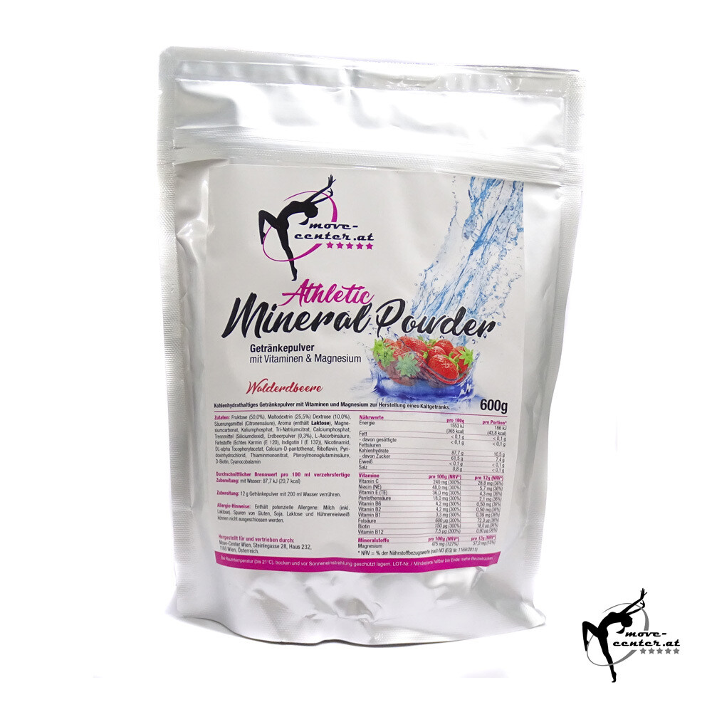 Athletic Mineral Powder / Walderdbeere