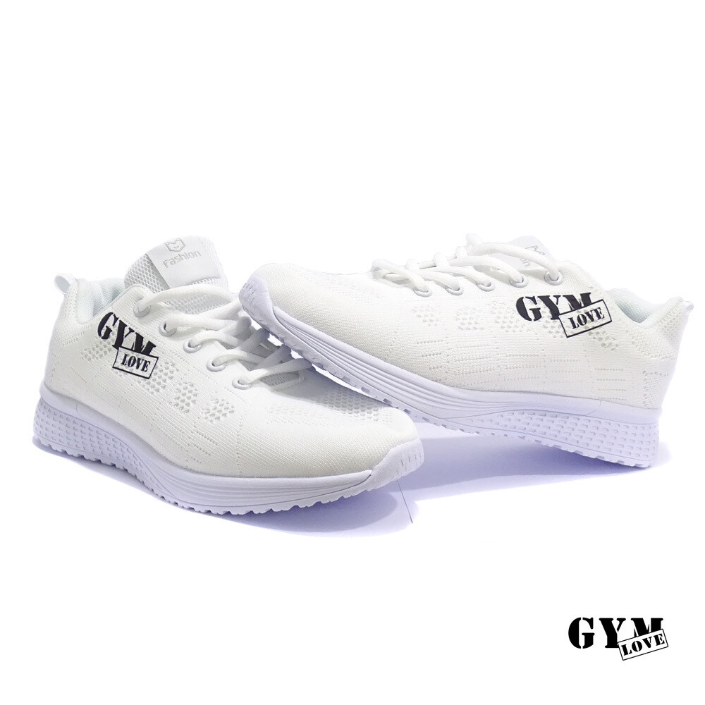 GymLove Fashion Shoes / weiss