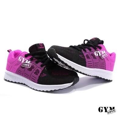 GymLove Fashion Shoes / schwarz-pink