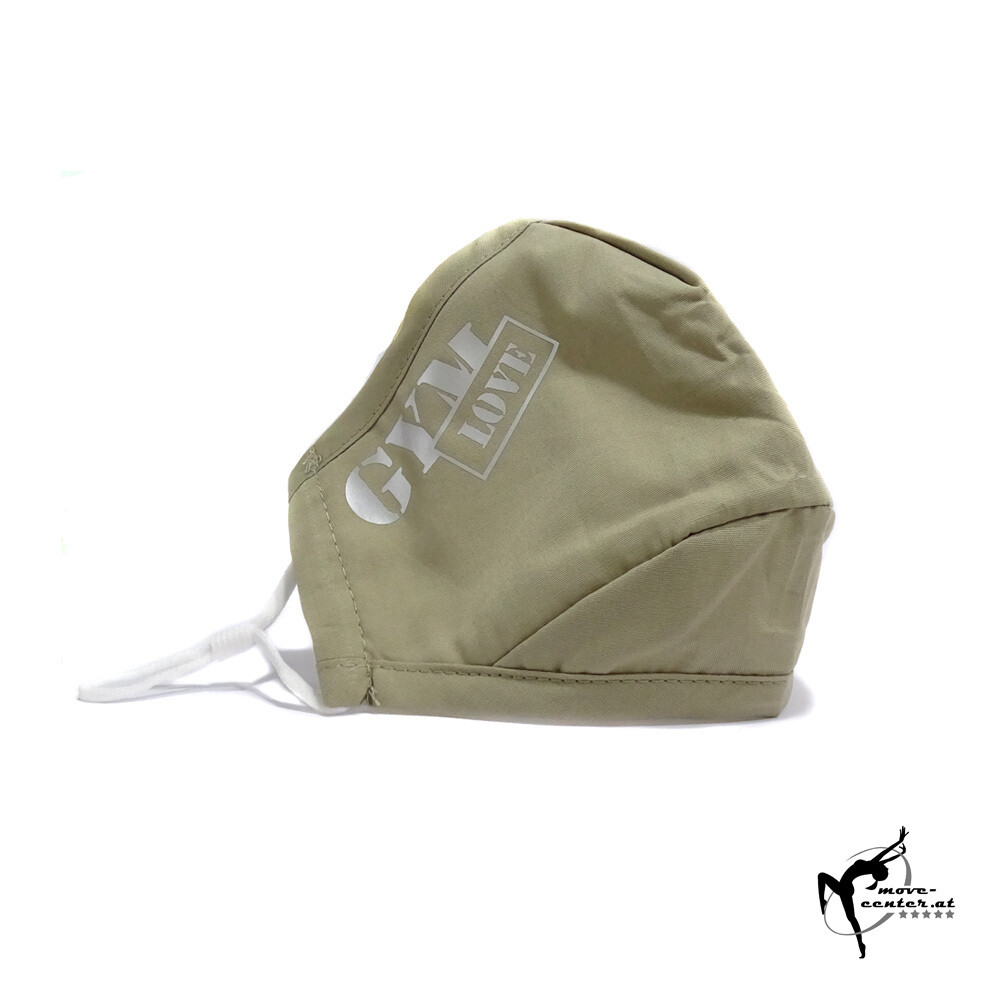GymLove Mund-Nasenschutz / Braun