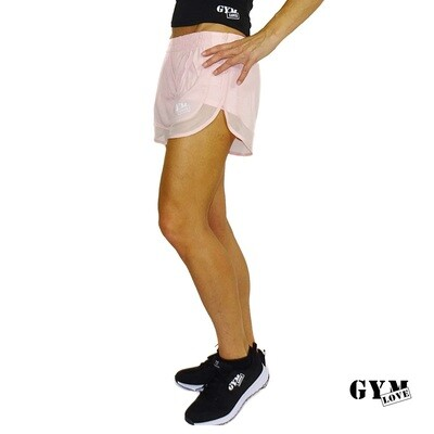GymLove Shorty Rose