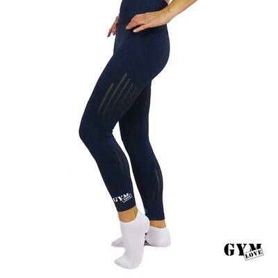 GymLove Push-Up Leggings blue