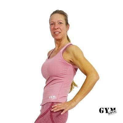 GymLove Fit - Shirt Rose