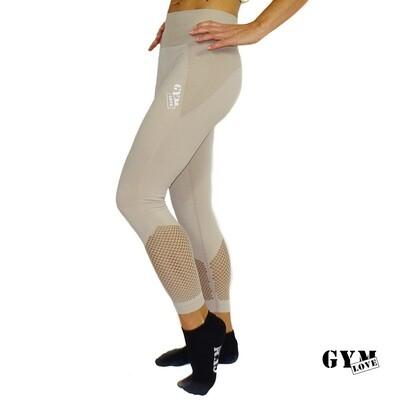GymLove Seamless Leggings / Nude