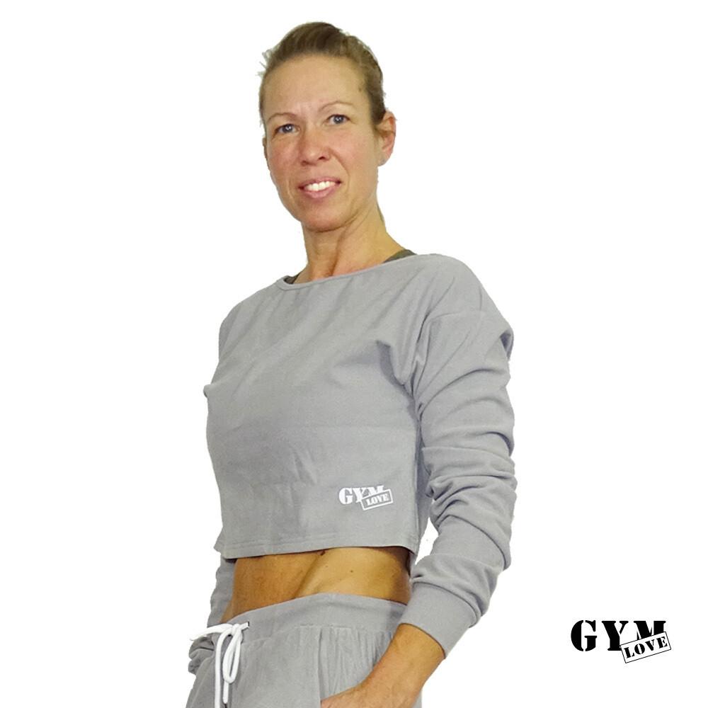 GymLove Sweater Feeling / Grau