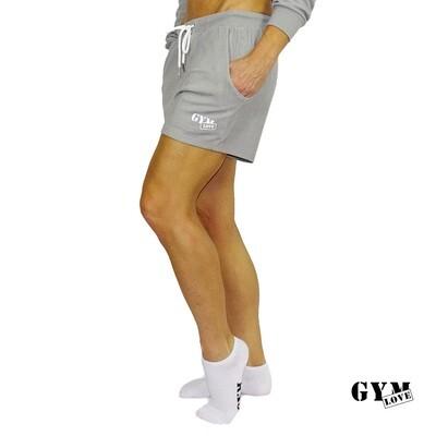 GymLove Short Feeling / Grau