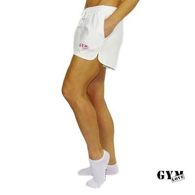 GymLove Short Cool / Weiss