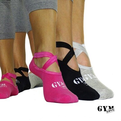 GymLove Yoga Socks 3er Set