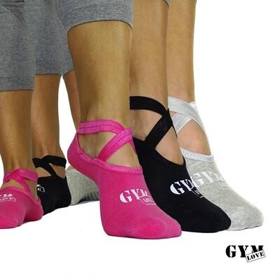 GymLove Yoga Socks 3er Set
