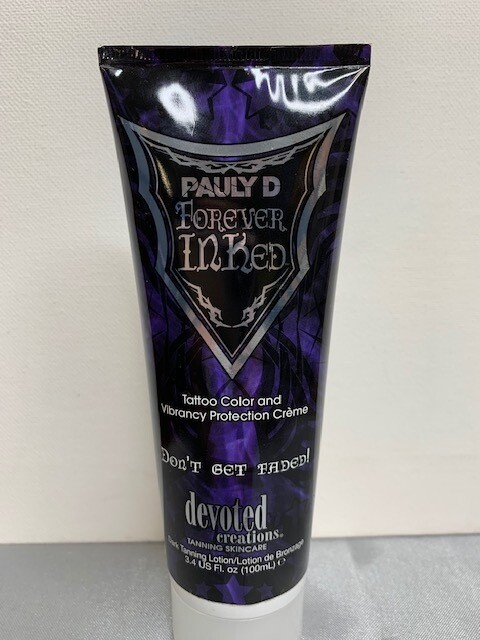 Pauly D Forever Inked Tattoo Tanning Lotion