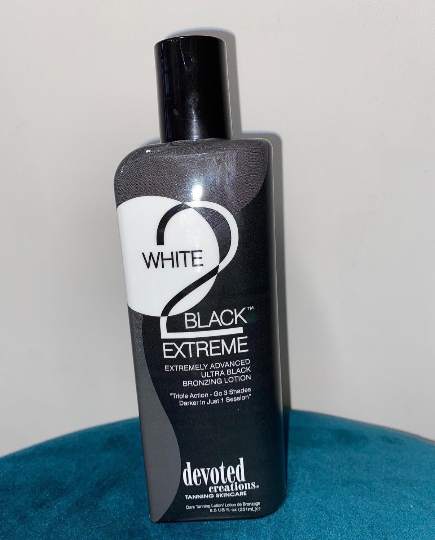 White 2 Black Extreme Ultra Black Bronzer