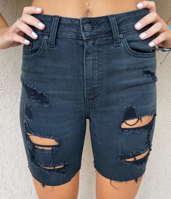 Eunia Black Diamond Shred Shorts