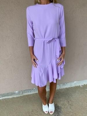 American Chic Lavender 3\4 Sleeve Dress