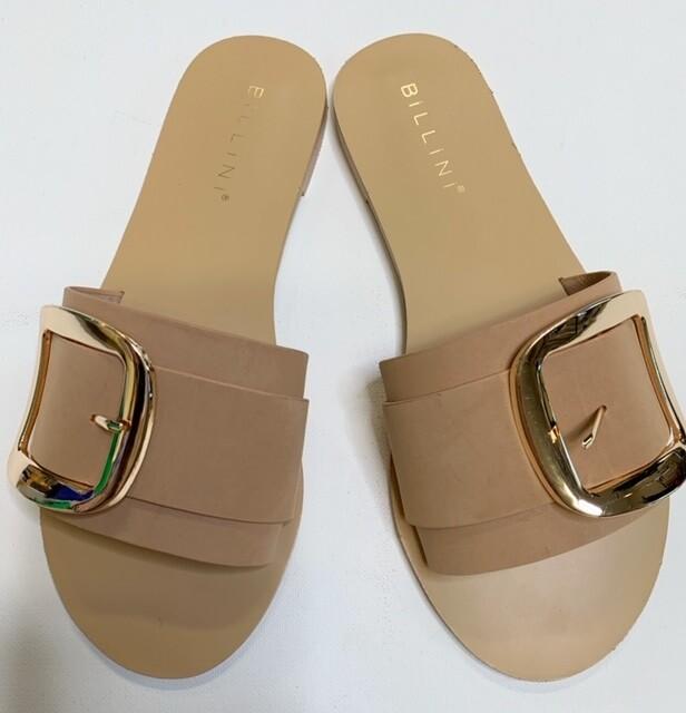 Billini Camel Buckle Sandal