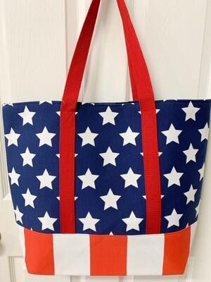 Ruggine Stars And Stripes Tote Bag