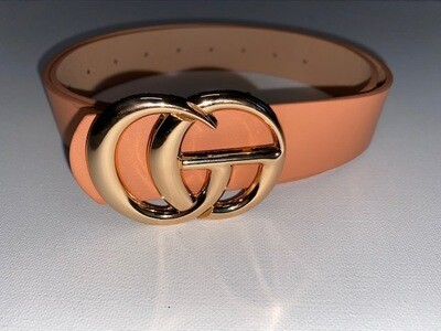 Fashion Belt Clay Color