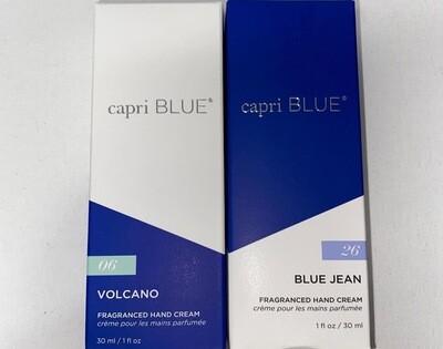 Capri Blue Mini Hand Cream 1.2oz.