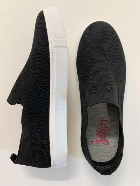 Training Black Knitted Sneaker