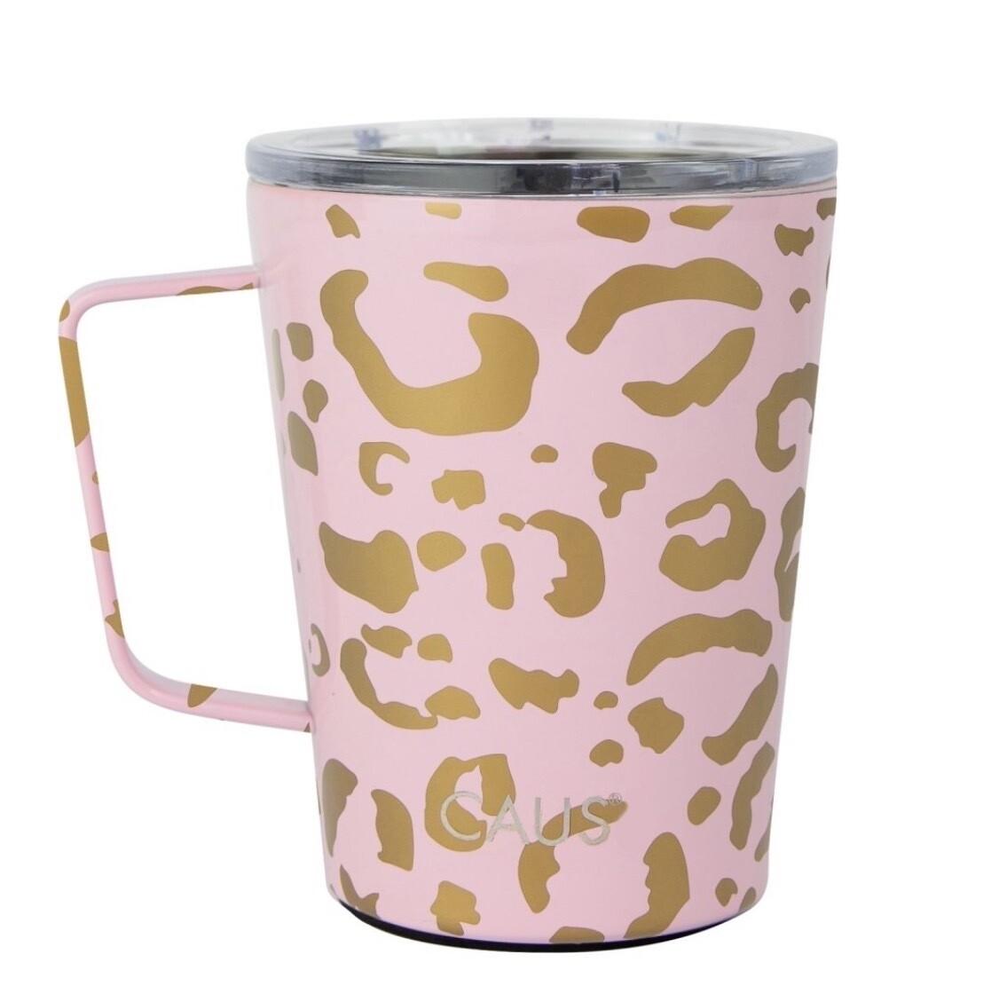 Pink\Gold Leopard Mug