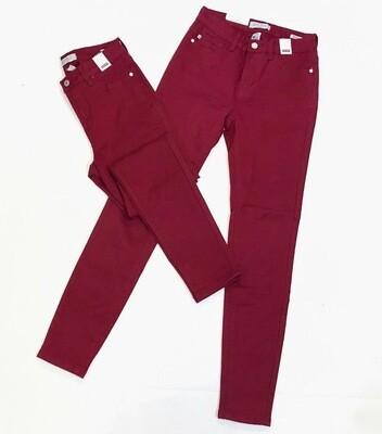 JUDY BLUE Jeans MAROON