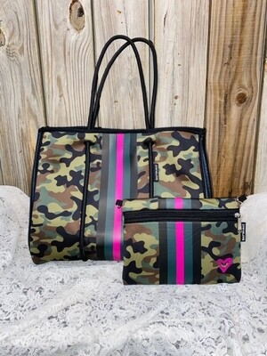 PreneLOVE Large Tote - Pink Army